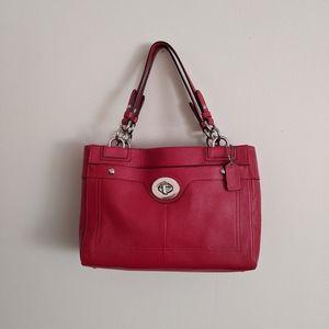 Coach red purse